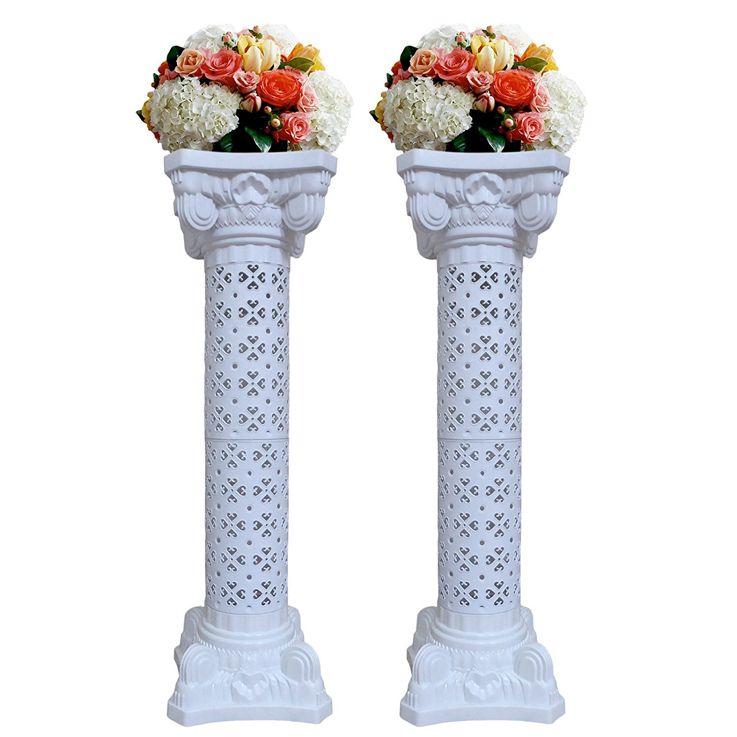 Wedding Decoration Plastic Roman Column Height Adjustable